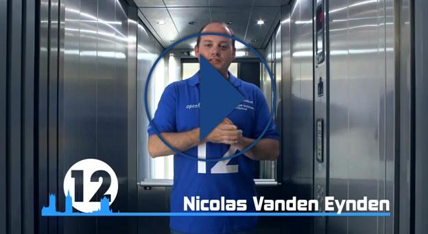 Jong VLD Gent zit in de lift! Plaats 12 Nicolas Vanden Eynden | Gemeenteraad